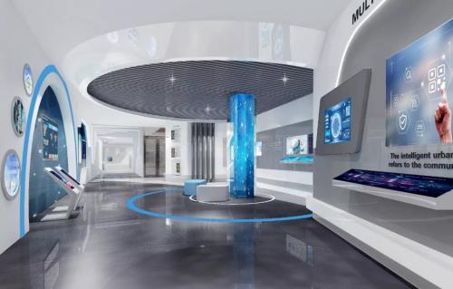智慧未来体验馆展厅设计